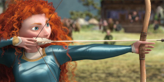 Pixar's Brave on Blu-Ray: November 13, 2012