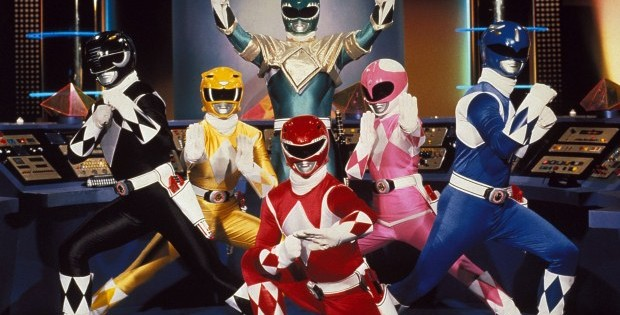 Power Rangers: From Mighty Morphin to Lost Galaxy