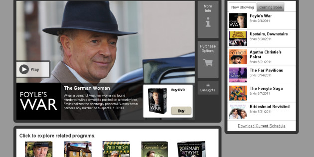 Acorn TV Streams British Excellence!