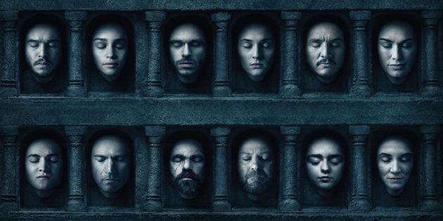 Game of Thrones: Season Six Blu-Ray